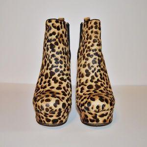 Vince Camuto Leopard Baileys Booties